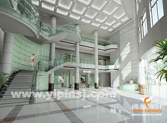 医院大厅室内设计