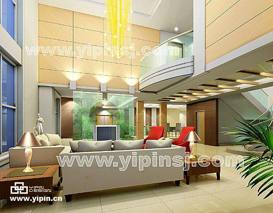 别墅客厅装修设计方案图