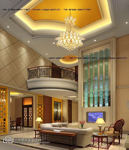 简欧式别墅室内设计