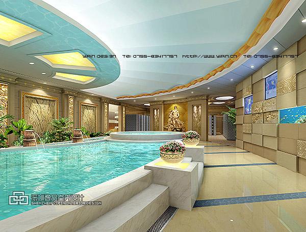 桑拿洗浴中心设计
