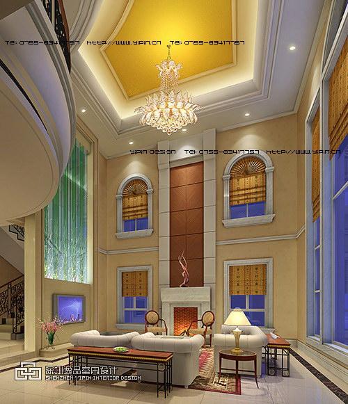 简欧式别墅室内设计-yipin.cn