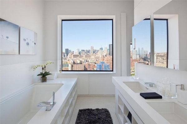 纽约360度全景屋顶公寓—简约风格住宅设计