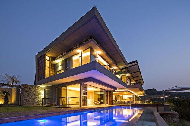 现代简约别墅外观设计