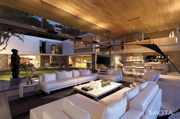 南非开普敦豪华海滨私人别墅