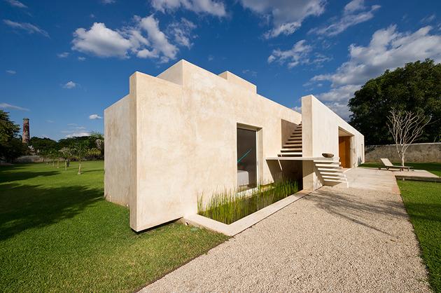 墨西哥庄园设计-极具现代感的庄园式别墅设计