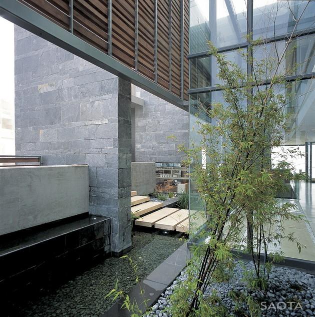 班特里湾现代简约海景别墅设计-saota作品