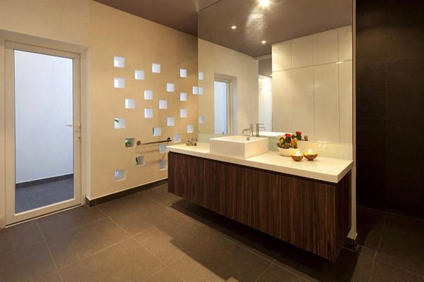 来自越南的现代简约风格住宅设计_别墅设计在线-yipin