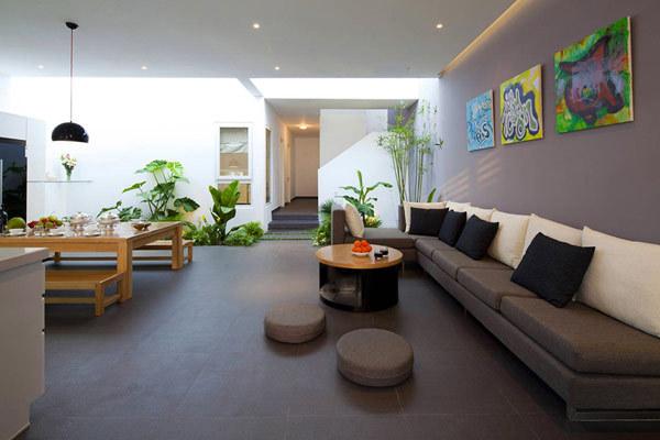 来自越南的现代简约风格住宅设计