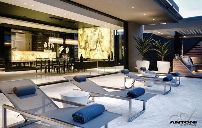 现代超豪华别墅设计--南非head road