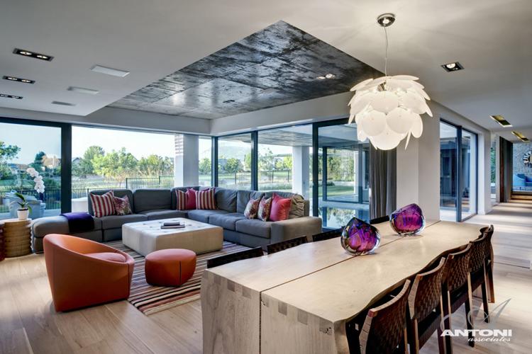 现代中式元素的南非豪华别墅欣赏