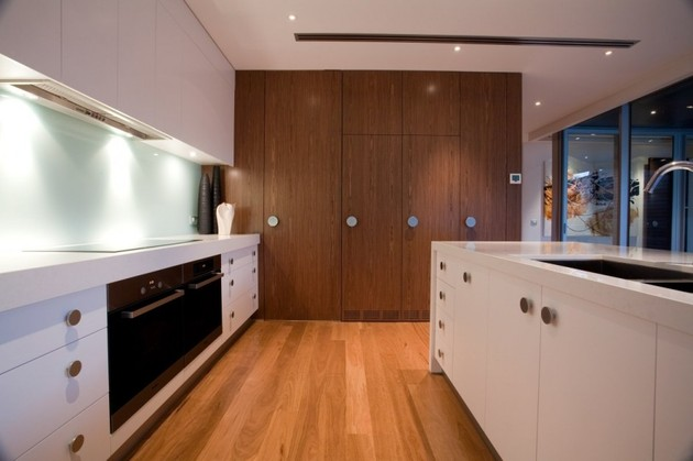 澳大利亞墨爾本的玻璃屋別墅設計
