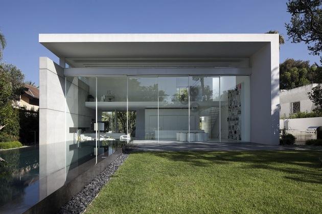 以色列白色现代简约别墅设计