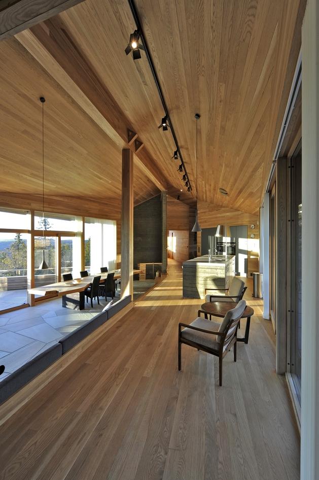 北欧家庭度假木屋别墅