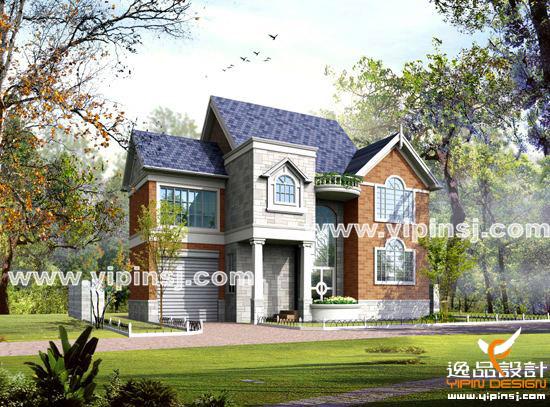 最新别墅外观设计; 小洋楼外观效果图;